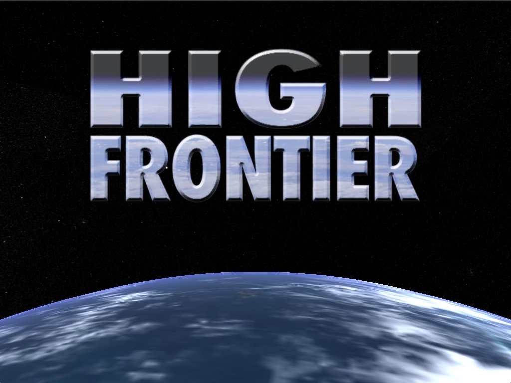 High Frontier Title Screen